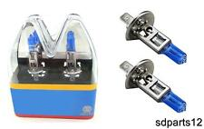 2 AMPOULES HALOGENE PHARE SUPER WHITE H1 100W 12V POUR RENAULT MEGANE LAGUNA