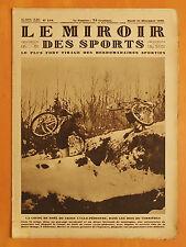 Le Miroir des Sports 518 du 24/12/1929-Cross Noël Cyclo-Pédestre.Herry.premier