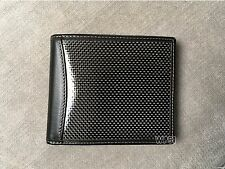 Real Carbon Fiber Leather Wallet Brozne Stitches FOR A4 A8 A6 PASSAT