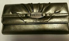 NINE WEST CHECKBOOK WALLET  NICE & CHEAP!!!