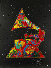"Peter Max    ""Grammy '91""    MAKE  OFFER   DSSTD"