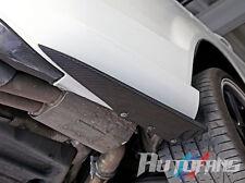 Mercedes Benz W204 C63 Side Skirt Carbon Fiber Rear Bumper Extensions AF-0194