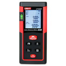 UNI-T 40m/131ft Digital Laser Distance Meter Range Finder Area Volume Measurer