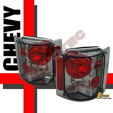 73-87 Chevy CK Pickup Truck Suburban Smoke Tail Lights Lamps 1 Pair