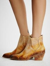 Faryl Robin + Free People Womens Williams Ankle Boot, Mustard $248 sz 8