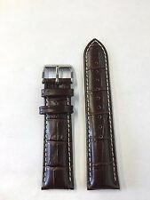 SEIKO MEN'S SSC227 BROWN LEATHER BAND SILVER BUCKLE BAND