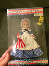 VINTAGE BICENTENNIAL FASHION INDEPENDENCE 1776 BLUE EYE GIRL COLLECTOR DOLL!