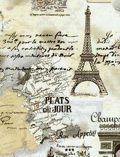 Timeless Treasures Paris Chic & Shabby April in Paris C9661 Cream, BTY