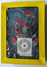 1961 CLOCK MAKING KIT ELVES LUCKY LADYBUG'S EDUCATIONAL TOYS WESTERN GERMANY NEW