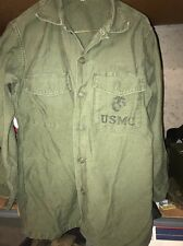 Vietnam Era USMC Cotton OG-107 Shirt 15 1/2 X 31