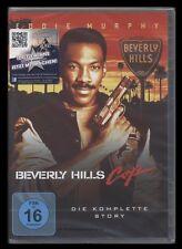 DVD BEVERLY HILLS COP 1 + 2 + 3 - DIE KOMPLETTE STORY - EDDIE MURPHY *** NEU ***