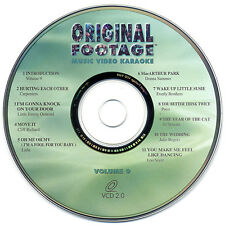 RARE, ORIGINAL FOOTAGE KARAOKE VOLUME 9 - OFV-09 VCD - OUT OF PRINT!!!