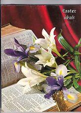 Ideals 1962 Easter Magazine Vol19,1 Hymns Jesus Garden Thornburg The Last Supper