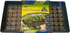 2 Pack 72 Cell Jiffy Professional Greenhouse Seed Starter Kit-72 CELL GREENHOUSE