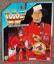 Vintage 1992 Hasbro WWF The Mountie Wrestling Figure New In The Package