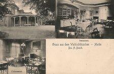 1 AK   HEIDE in Holstein - Waldschlößchen um 1907