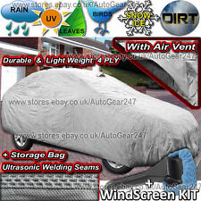 Porsche Cayenne 4 Ply Waterproof Breathable Vent Ultra Seams Full Car Cover CCT