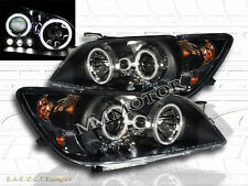 01-05 LEXUS IS300 IS-300 PROJECTOR HEADLIGHTS LED BLACK