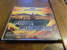 Cobra Command & Sol-Feace Double Disc Sega Mega-CD
