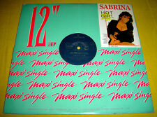 "PHILIPPINES:SABRINA - Hot Girl 12"" EP/LP,rare,Sabrina Salerno,Punch Hole"
