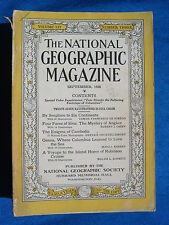 National Geographic Magazine September 1928 Vintage Ads Car Truck Advertising