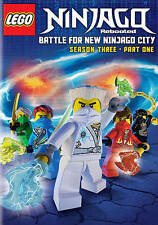 LEGO:NINJAGO:MASTERS SPINJITZU:REBTD: Season 3 Battle for New Ninjago City Seaso