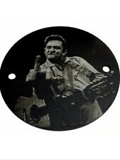 2 HOLE TIMING POINT COVER Johnny Cash FITS HARLEY BIG TW FREE SHIPPING!!!