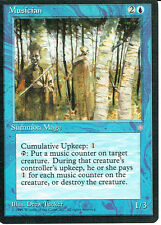 MAGIC THE GATHERING ICE AGE BLUE MUSICIAN