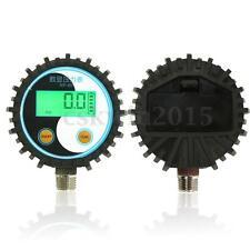 Battery Power Gas Pressure Tester Digital Pressure Gauge 0~145psi(0-10Bar) G1/4
