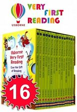 Usborne Very First Reading 16 Books Collection Set Gift Box Pack (Read At Home)