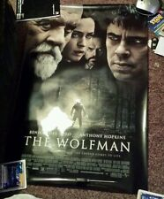 The wolfman 40x27  premium  movie poster Anthony Hopkins  benicio  del toro