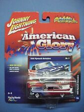 JOHNNY LIGHNING STREET FREAKS AMERICAN GLORY #5A 1958 PLYMOUTH BELVEDERE