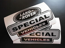 LAND ROVER DEFENDER Aftermarket Special Vehicles Sticker kit set wing decals