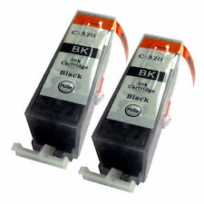 2x PGI520 Black Compatible Ink Cartridges For Canon PIXMA MP540x Inkjet Printer