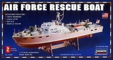 Lindberg Air Force Rescue PT Boat MODEL KIT 1/72