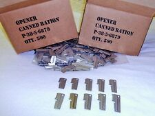 P38 U S Shelby Company 10 Piece Vietnam & WW2 Style Can Openers Made In the USA