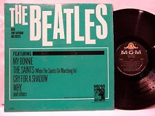 BEATLES ORIG. U.S. 1964 MGM  THE BEATLES WITH TONY SHERIDAN & GUESTS MONO EX!