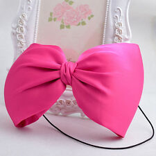 Roseo Big Bow Elasticity Hair Band for Women GIrl Baby Infant Hair Accessories