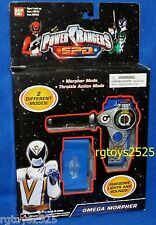 Power Rangers SPD Omega Morpher New Lights & Sounds Space Patrol Delta