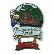 KEEL BOATS REMEMBER WHEN PIN Mike Fink 2006 Donald Duck Attraction Surprise NEW