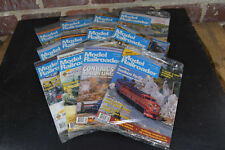 1993 Model Railroader Magazine Complete Year 12 Issues Orig Mailers Exc-Mt
