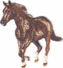 HORSE - ANIMALS - IRON ON EMBROIDERED APPLIQUE PATCH/Animals, Horses