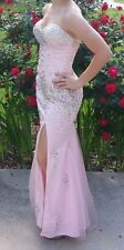 Terani Couture dress P3161 Prom/Formal Dress Pink Size 0 Rhinestones/Strapless
