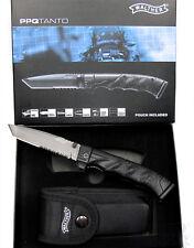 Walther PPQ Knife Tanto Taschenmesser 5.0747 Messer Rettungsmesser mit Holster