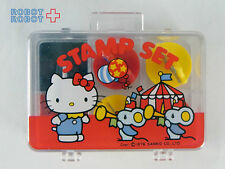 Vintage Hello Kitty Mini Stamp Set Sanrio 1976