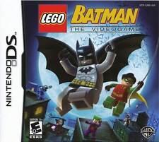 LEGO Batman - Joker Action Adventure Rob Two-Face Bane DS/Lite/DSi/XL/3DS NEW