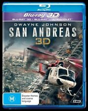 San Andreas (Blu-ray, 2015) New and Sealed