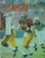 1980 COACH & ATHLETE MAGAZINE (CHARLES WHITE SOUTHERN CAL CVR *PINKY BABB