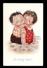 Children Beratrice Mallet drawn Tuck Oilette #3610 Comic PPC Cute Kiddies