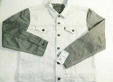 Levi's Men's Denim Boxy Fit Trucker Jacket Cotton Gray NWT Size M MSRP $84